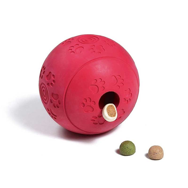 La palla porta snack è tra i giochi per cani più divertenti e adatti proprio a tutti!
