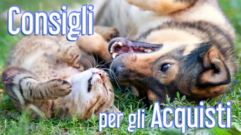 Consigli per gli acquisti Cane e Gatto